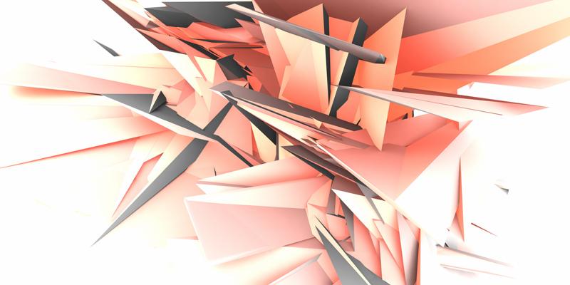 3D obraz crista