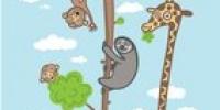 dětské tapety - tapety džungle
