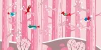 dětské tapety - tapety les