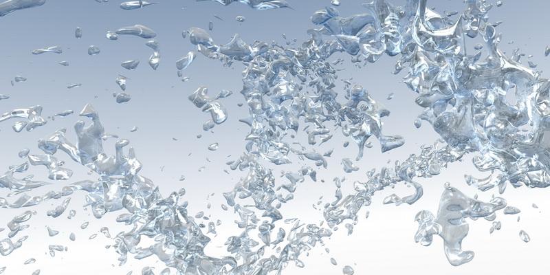 3D motiv eruptive aqua #2