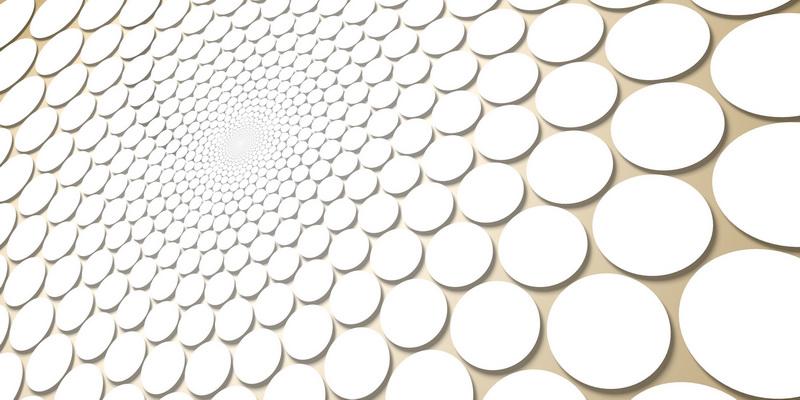 3D motiv fibonacci #4