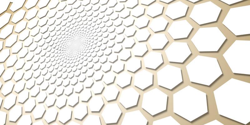 3D motiv fibonacci #5
