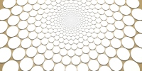 interior wallpapers - fibonacci