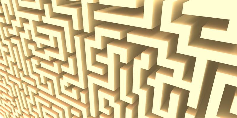 3D  labyrinth #0