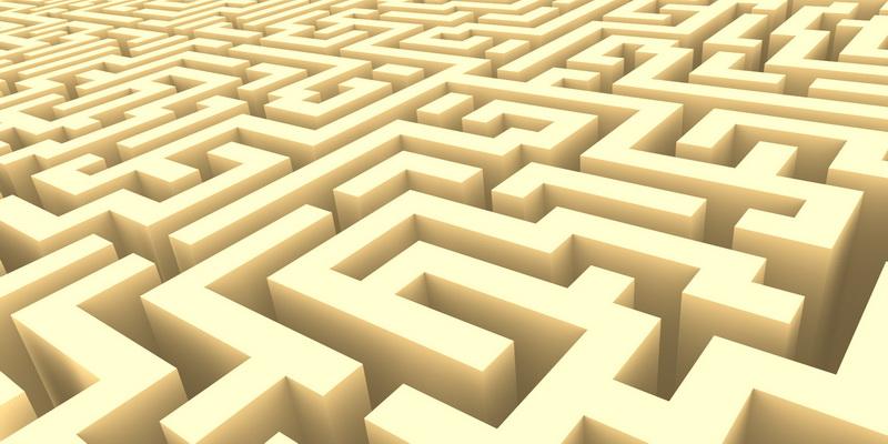 3D  labyrinth #2