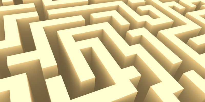 3D  labyrinth #3