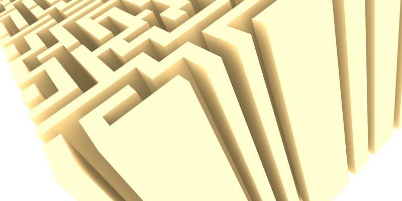 3D  labyrinth #5