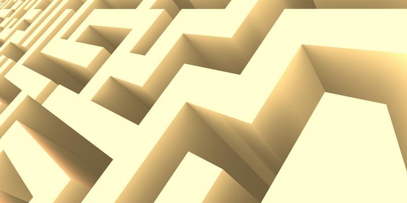 3D  labyrinth #6
