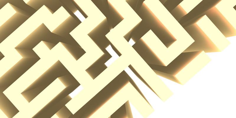 3D  labyrinth #8