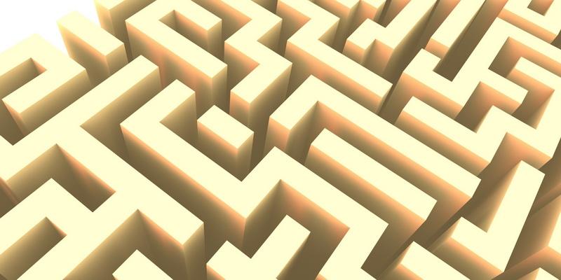 3D  labyrinth #9