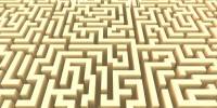 Motifs labyrinth #1 - thumbnail