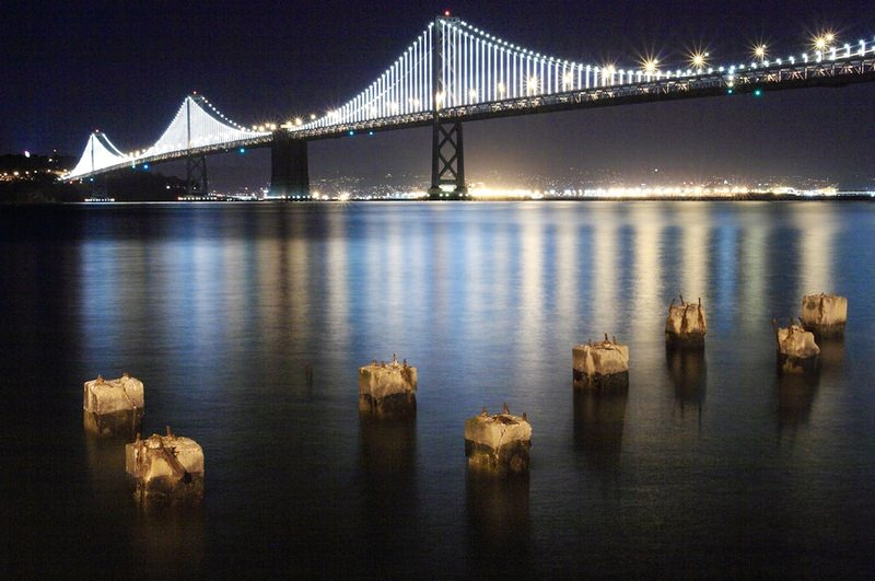 3D  mesta bay bridge sf