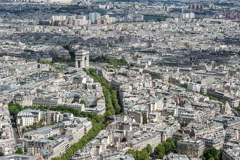 3D město paris 1 #0