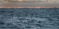 města - pohled na kodaň z pobřeží malmo