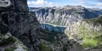 příroda - norsko hory trolltunga 1