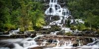 příroda - norsko vodopád