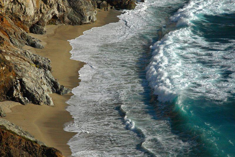 3D příroda priroda priboj