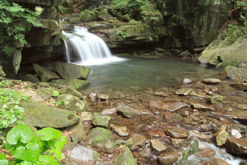 3D  priroda satinsky vodopad #0