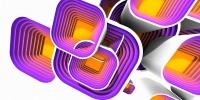 Motivy squares multibevel #6 - náhled