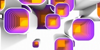 Motivy squares multibevel #8 - náhled