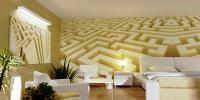 Motifs tapety labyrinth #1 - thumbnail