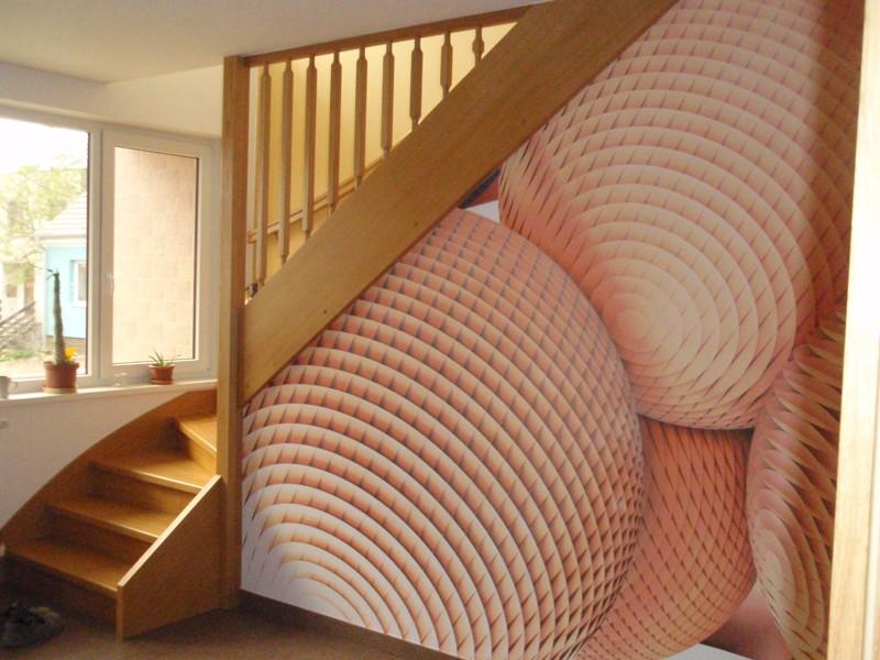 3D  tapety schodiště #0