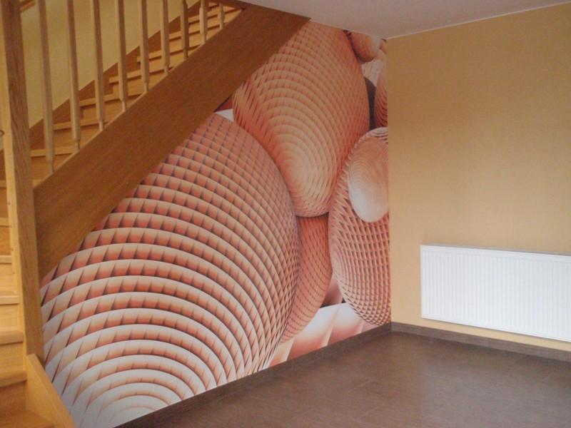 3D Ukázka tapety schodiště #2
